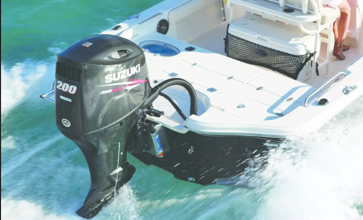 outboard motor care